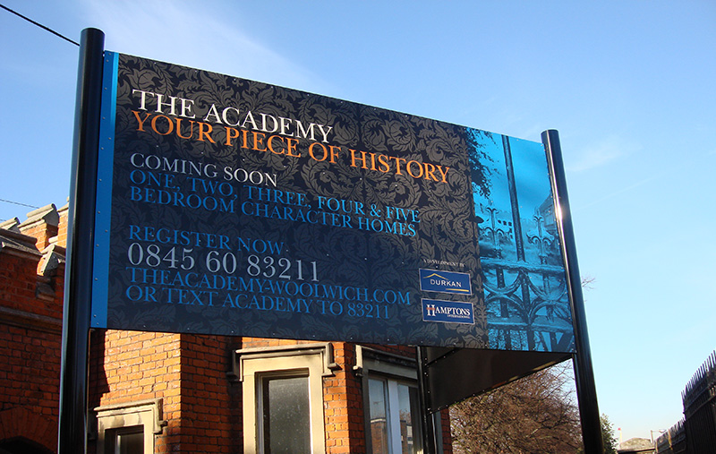 The Academy Signage