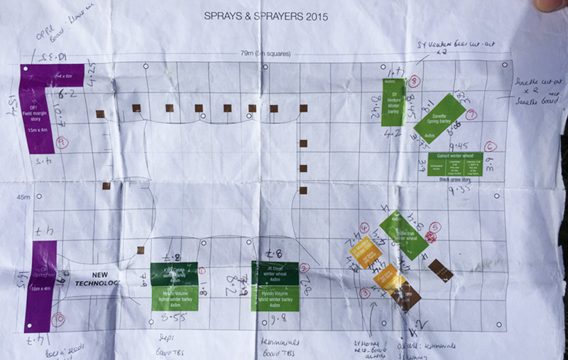 Syngenta Cereals planning stage