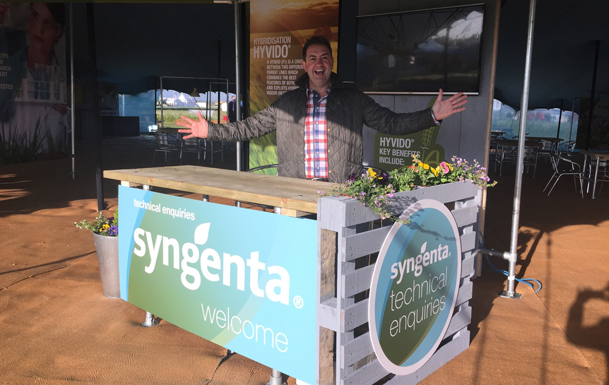 Craige at Syngenta Cereals Event 2015