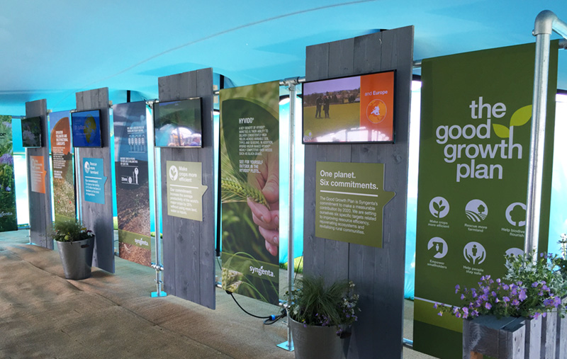 Syngenta displays at Syngenta Cereals Event 2015