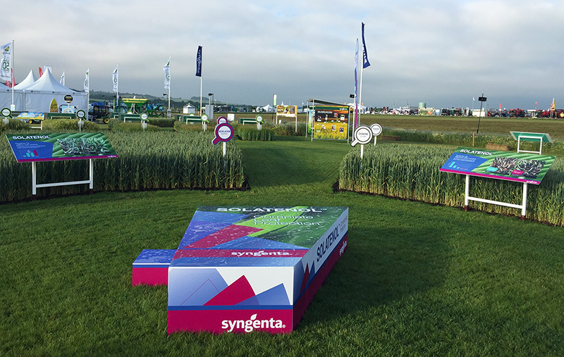Syngenta at annual Cereals event 2016