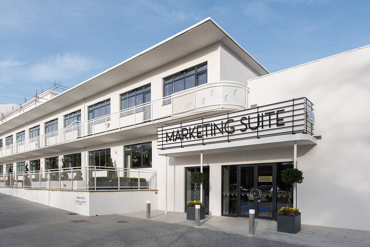 The Denham Film Studios marketing suite