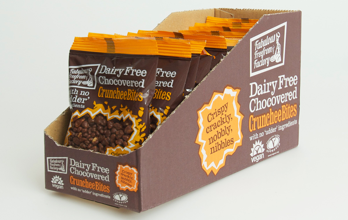 Free From Factory Crunchee Bites carton