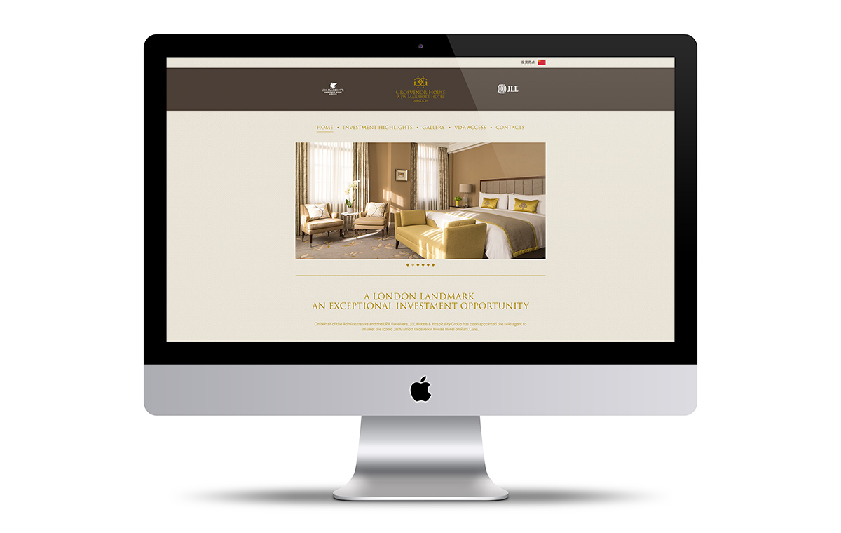 Grosvenor House home page