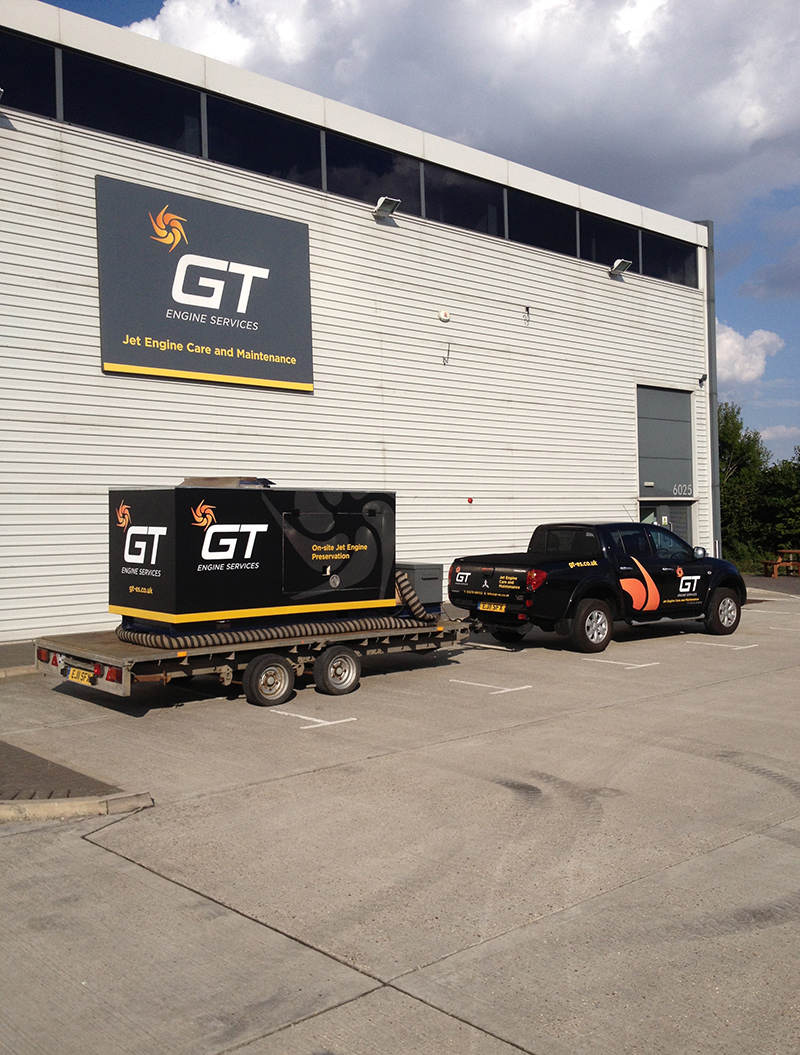 GT Engine Services branding