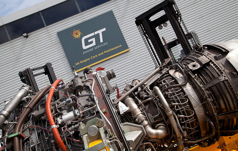 GT Engine Services branding and web design