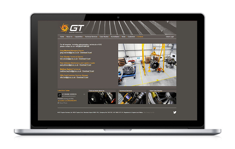 GT Engines Services news CMS