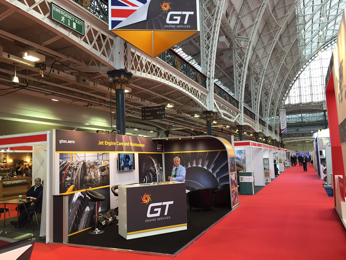 GT Engine Services exhibition