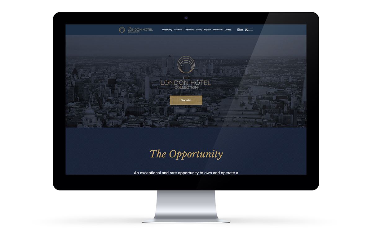 The London Hotel Collection website