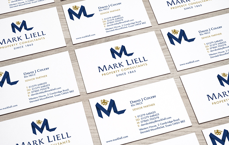 Mark Liell business cards