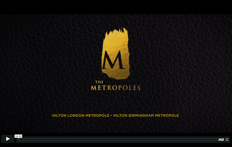 Hilton Metropoles video marketing