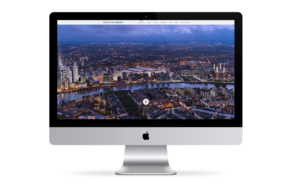 Nine Elms Square website home page