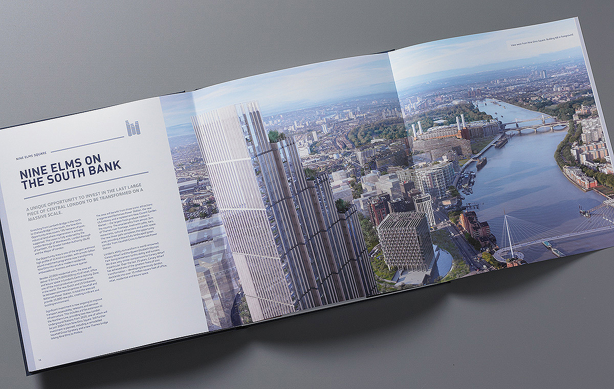 Nine Elms Square brochure spread