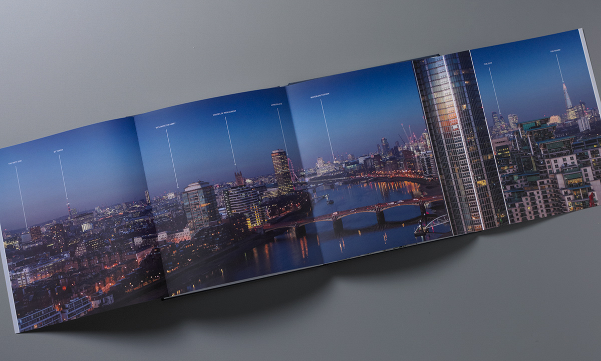 Nine Elms Square brochure four page spread