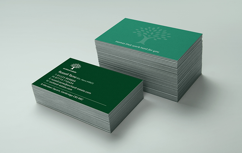Orchard Estate business cards