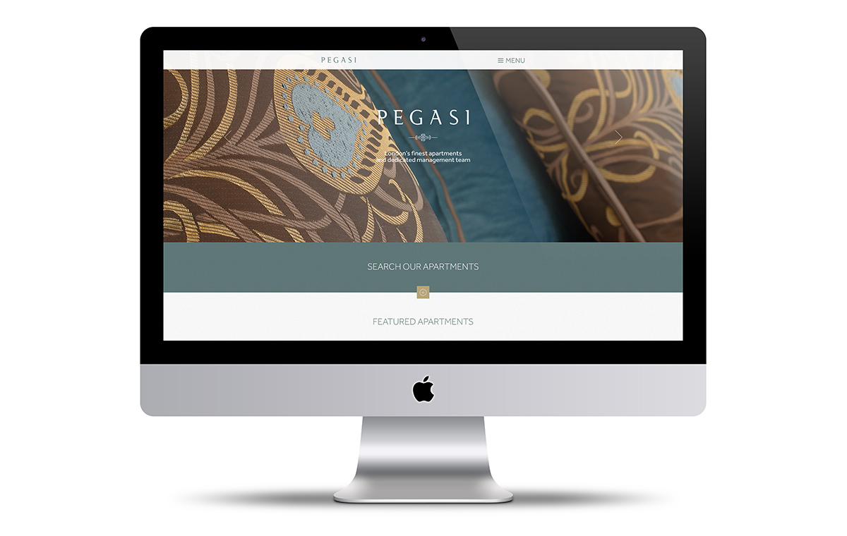 The Pegasi website on iPhone