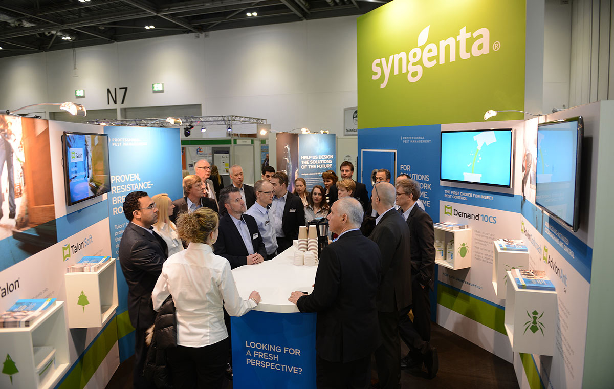 Syngenta Operation Pest Exhibition 2015