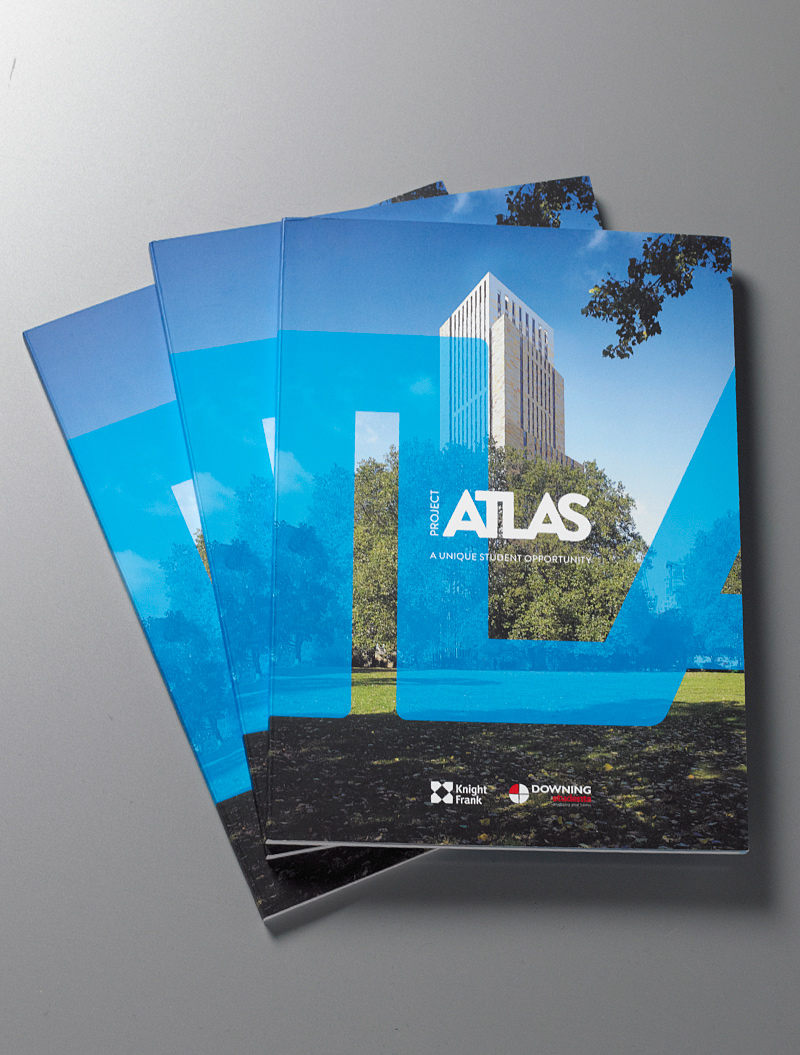 Atlas House brochure cover