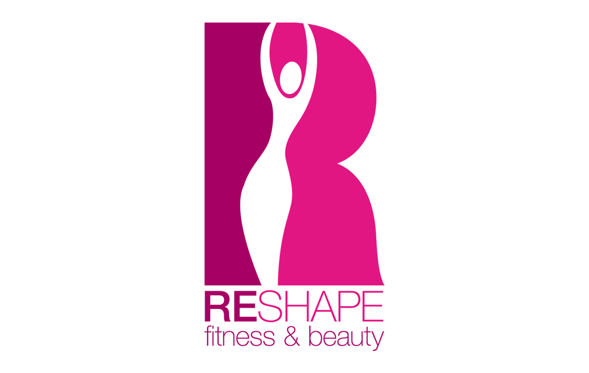 Reshape Fitness & Beauty branding