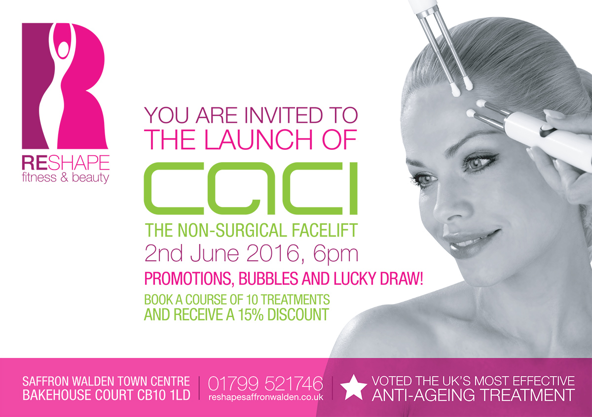 Reshape Fitness & Beauty CACI invite