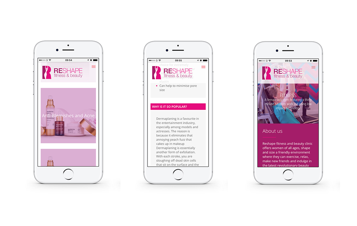 Reshape Fitness & Beauty on iPhone