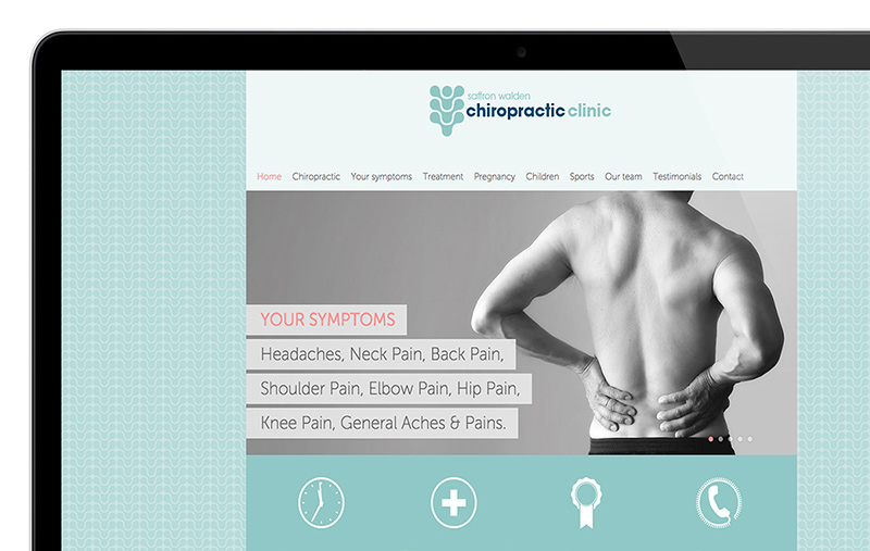 Saffron Walden Chiropractic website