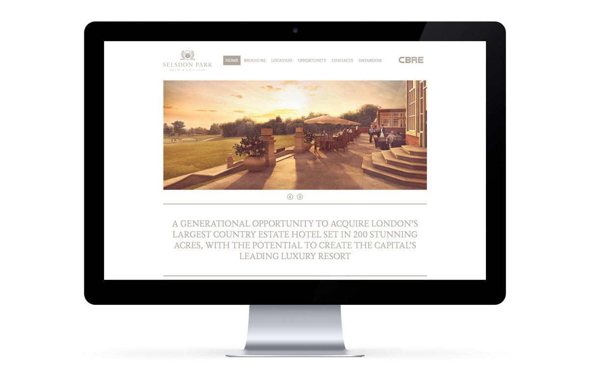 Selsdon Park Hotels website