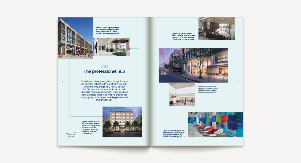 3 & 4 Station Square brochure spread