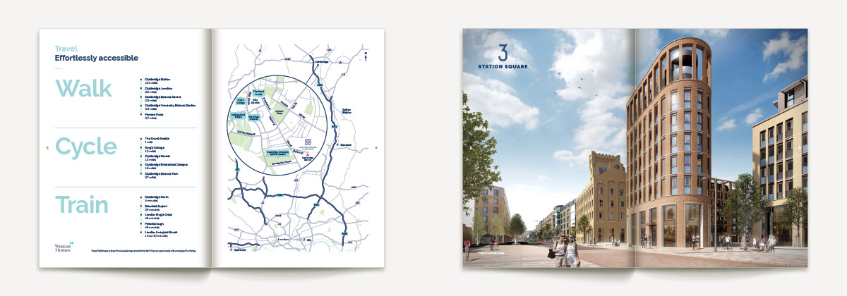 3 & 4 Station Square brochure spreads
