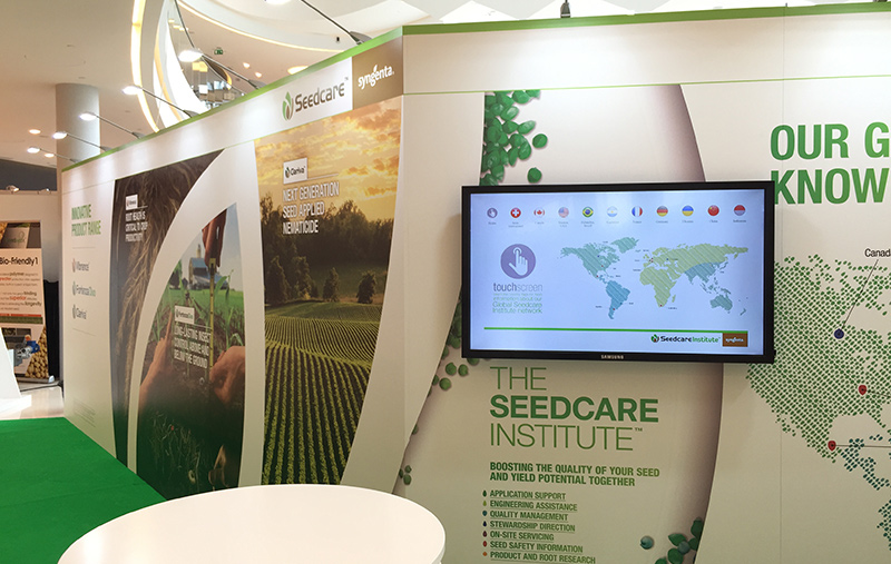 ISF seedcare touchscreen