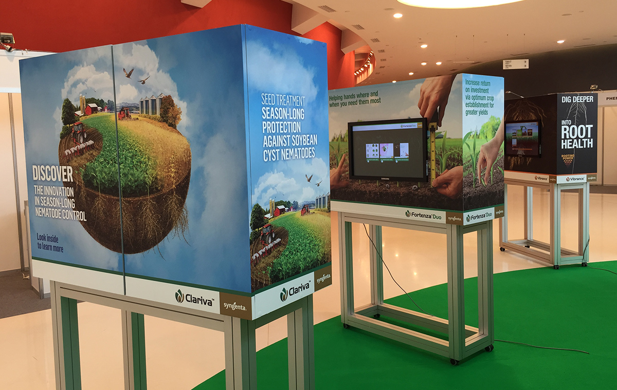 Syngenta ISF 2015 touchscreens