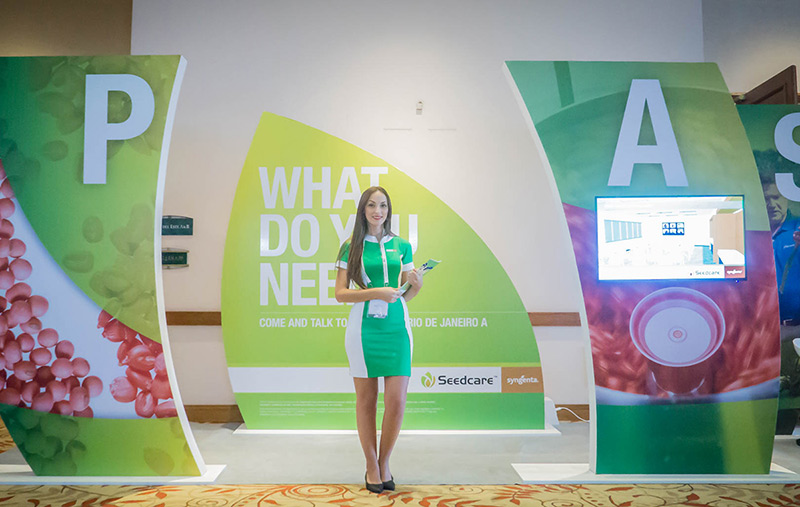 Syngenta AG came to GQ to visualise and create their exhibition space for the International Seed Federation's Congress, this year in Uruguay