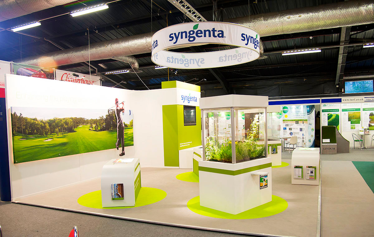 Exhibition Stand Rates : Syngenta turf gqdesign