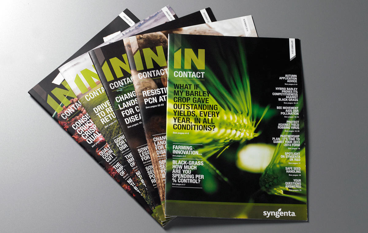 In Contact magazines