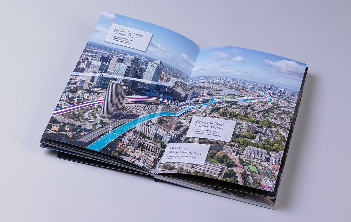 Two Trafalgar Way brochure spread