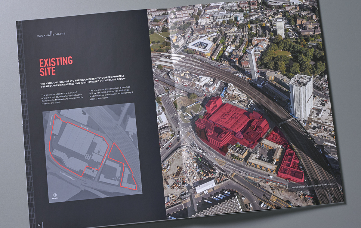 Vauxhall Square brochure spread