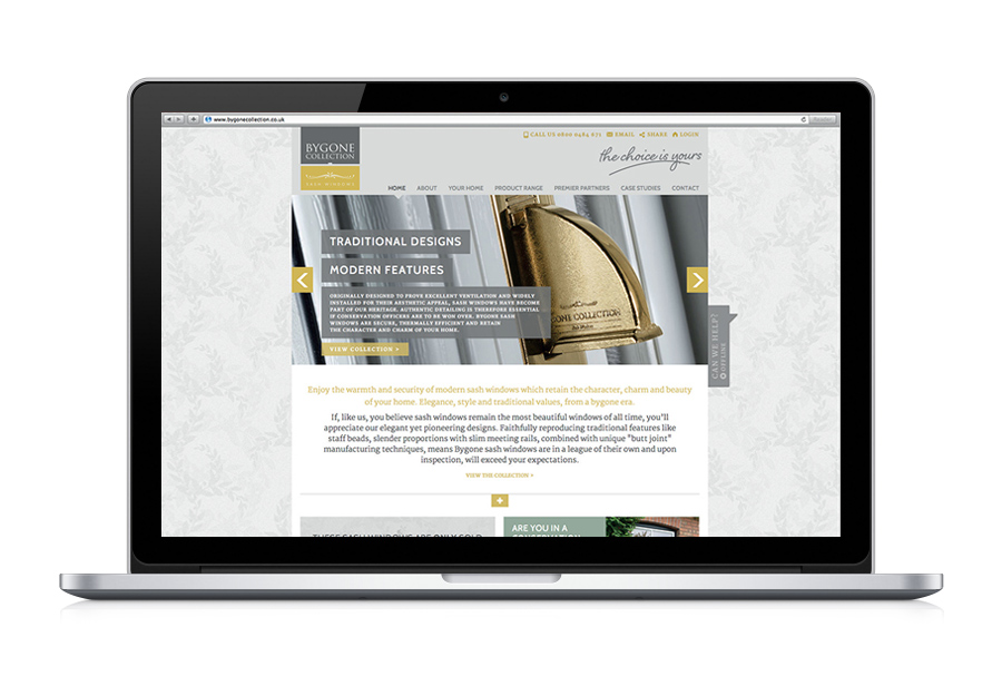 Bygone website for Masterframe Windows Limited