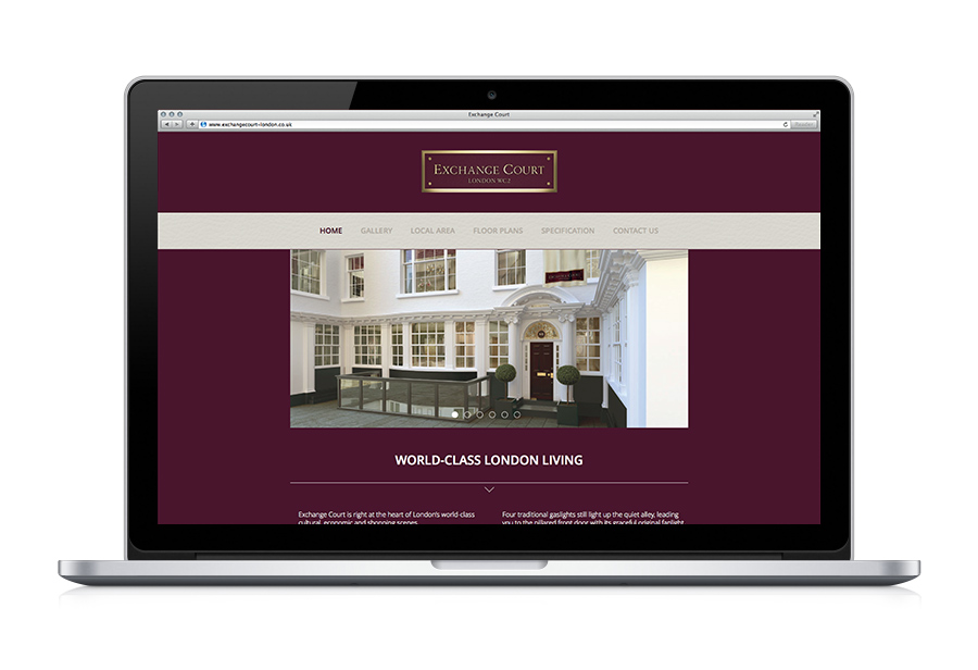 Exchange Court Website - Client: Hadley Property Group
