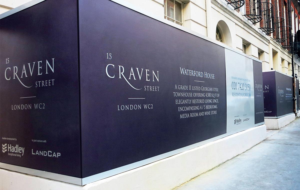 Craven Street Hoarding