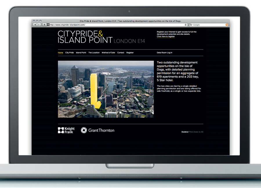 Island Point website