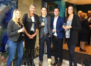 GQ staff at Evron Wharf