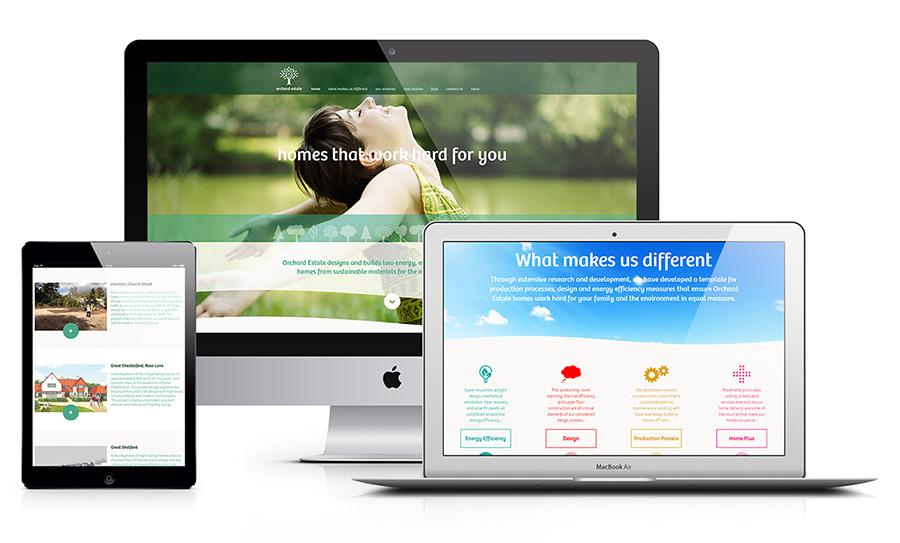 Orchard Estate responsive website