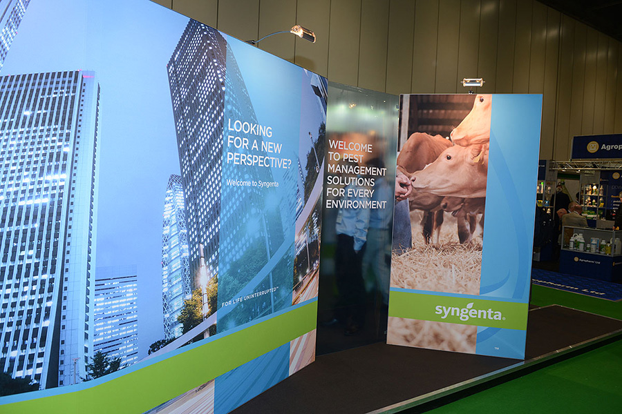PestEx 2013 stand for Syngenta PPM