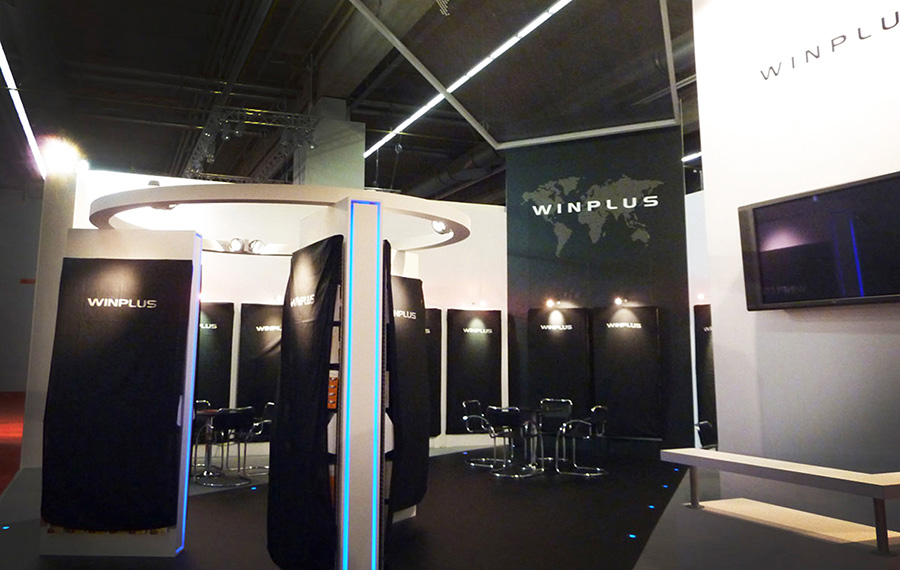 Winplus exhibition at the Automechanica Exhibition at Frankfurt's huge Messe Centre