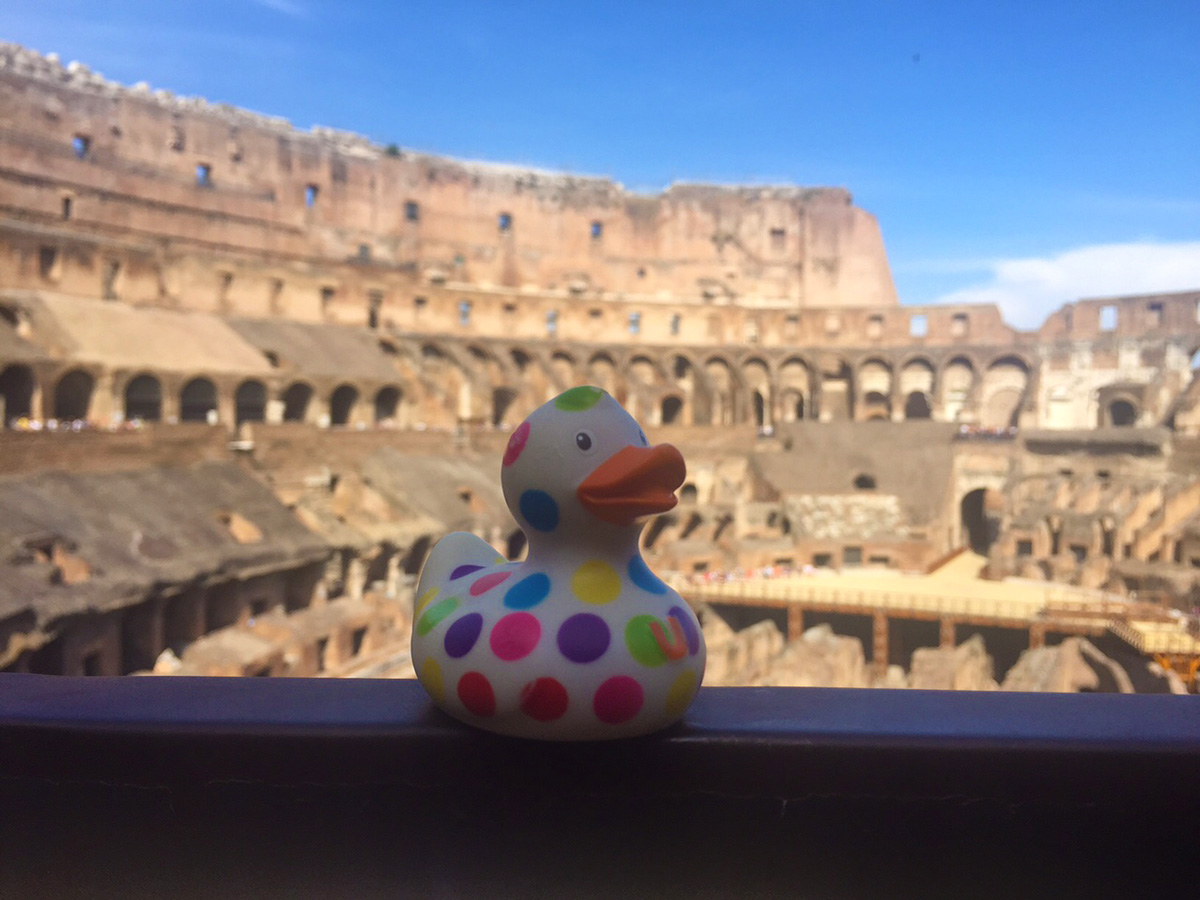 Little Bill visits Rome