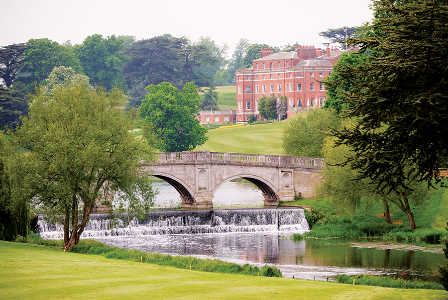 Brocket Hall is a Grade I listed classical country house