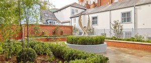 Angel's Courtyard in Colchester