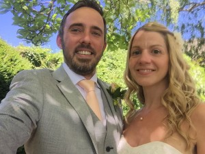 Lawrence and Nicola get married