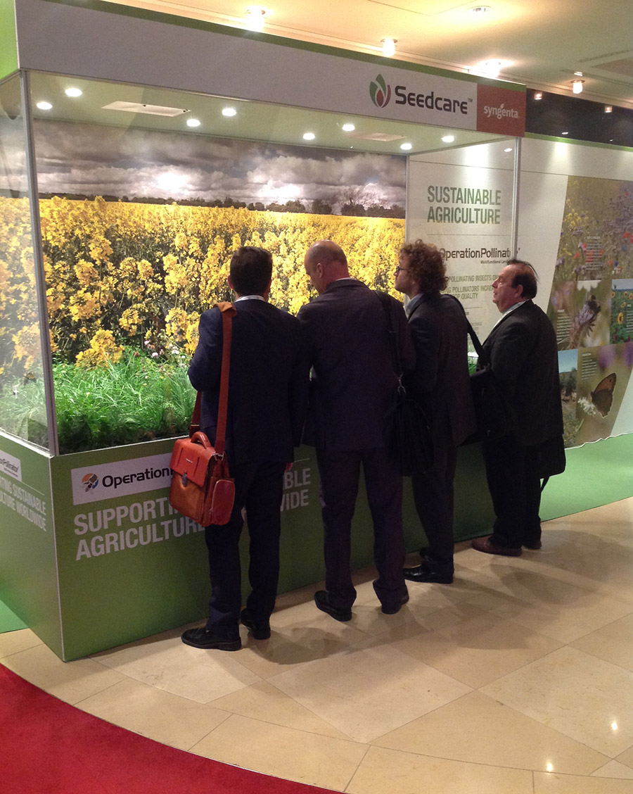 Syngenta stand creates a buzz at ESA 2015