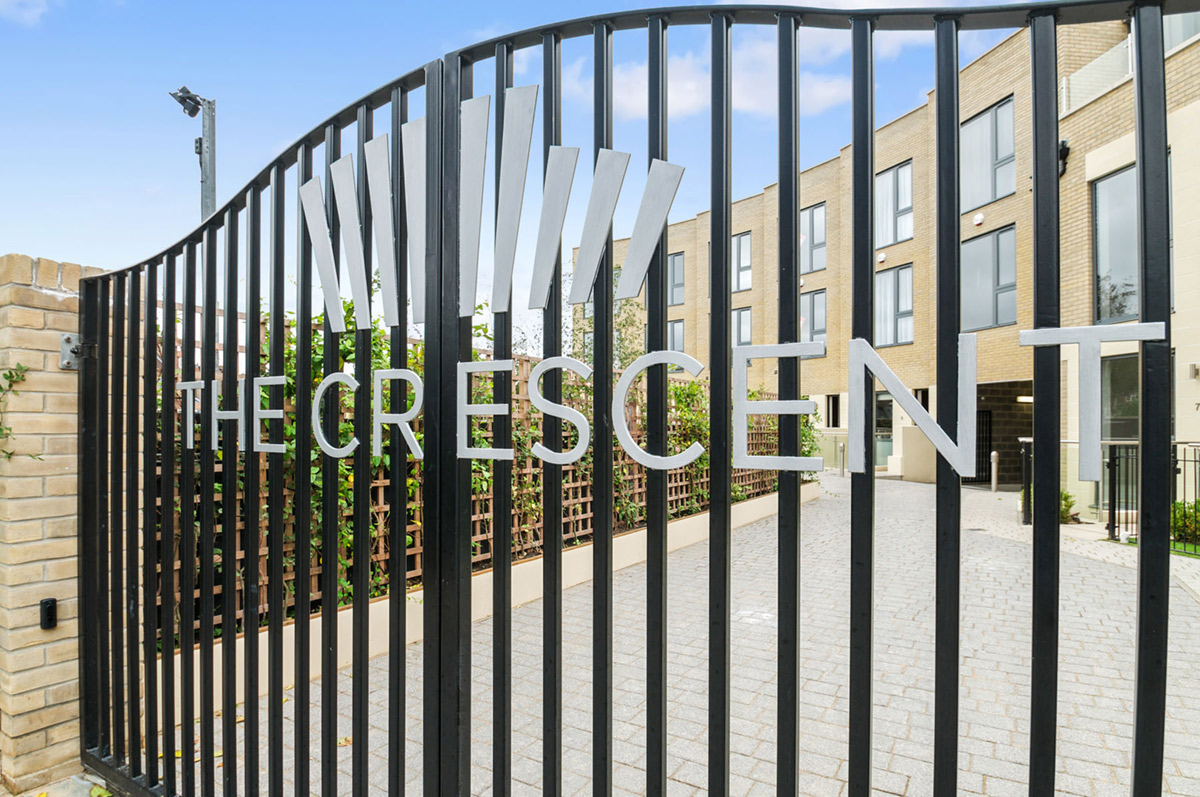 The Crescent branding